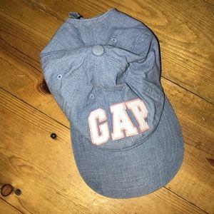 GAP adjustable orange & blue baseball cap.